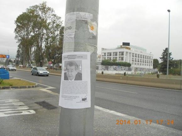 """Автомайдан цькує Тулуба на Марбельї: """"Цьому пану нема чого робити в демократичній Іспанії!"""" (фото)"""