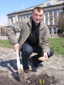 Наш дорогий Леонід Миколайович...