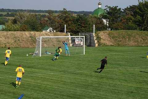 В Уманському районі відкрили два футбольних поля
