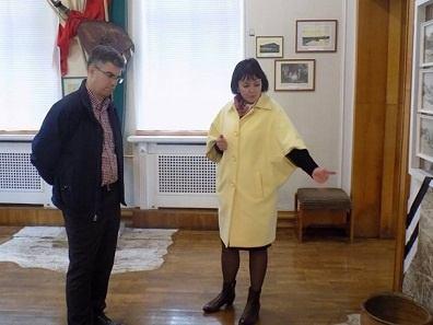 Заповідник «Батьківщина Тараса Шевченка» в Каневі відвідав американський аташе з питань культури Шон Охара