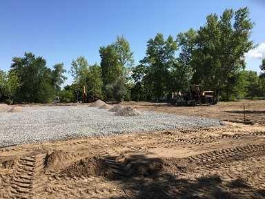 На набережній Дніпра в Каневі почалося будівництво скейт-парку