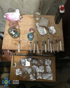 На Черкащині СБУ викрила нарколабораторію з виробництва амфетаміну